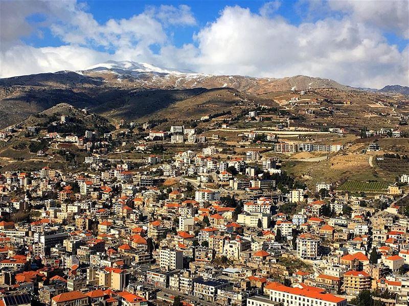 Blessed village 💚🙏🏻💚.......... lebanon lebanon_hdr ... (Zahlé, Lebanon)