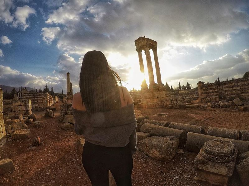 We are here to create History. Not repeat it🚫🔁 (`Anjar, Béqaa, Lebanon)