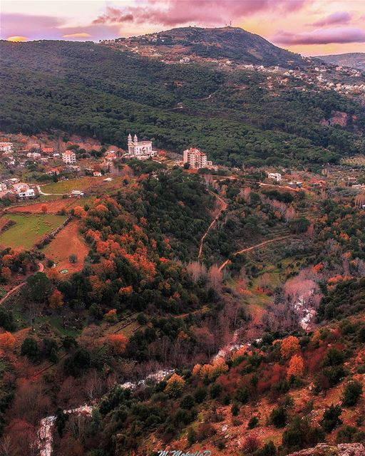 Jezzine waterfall crossing the valleys ❤, last shot i took before sunset... (Jezzîne, Al Janub, Lebanon)