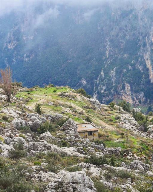 هون الدني احلا lebanon livelovelebanon livelovebeirut beirut ... (Kadisha Valley)