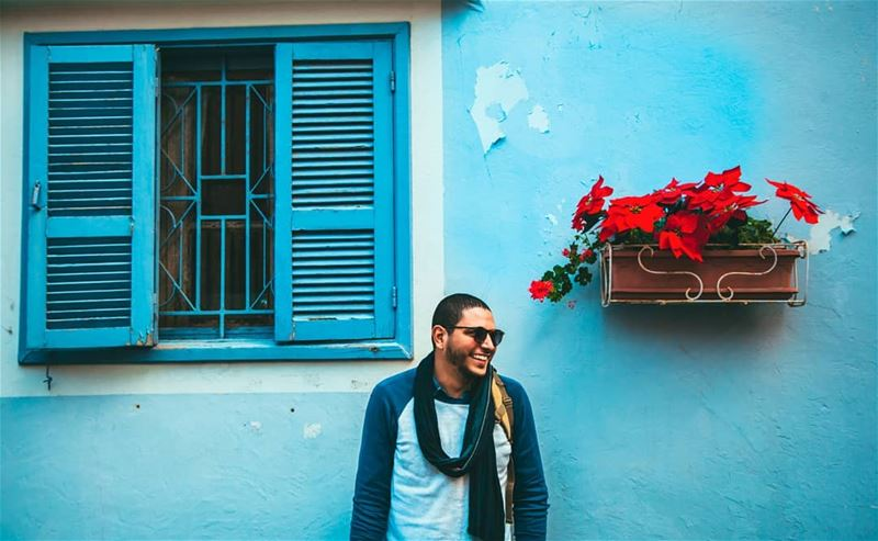 Find the joy in the ordinary 🤓😄📷 Colors Window Details Blue ... (Tyre, Lebanon)