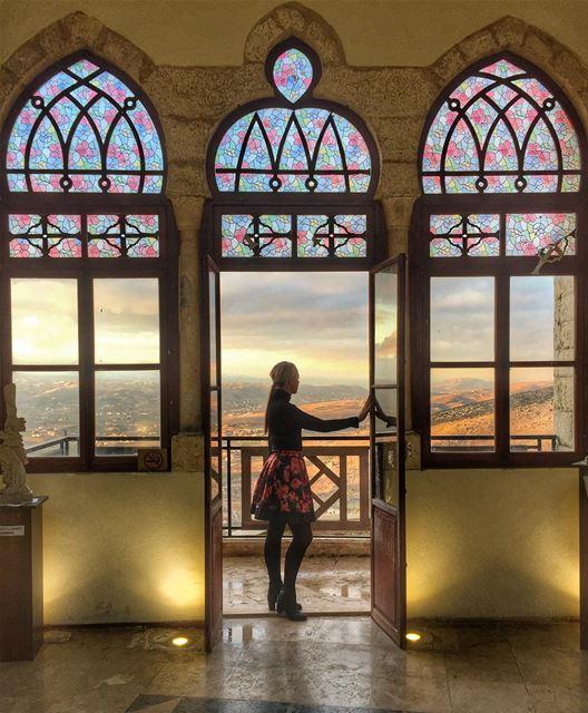 Lucy's moment in the historically famous Citadel of November 22. It was... (Rashayya, Béqaa, Lebanon)