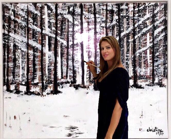 """""""Lost In Nature""""🍃She is at a place in her life where peace is her..."""