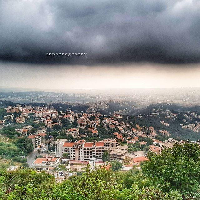 From Beit Meri 🇱🇧 * insta_lebanon ig_lebanon lebanon_pictures ... (Beit Meri, Mont-Liban, Lebanon)