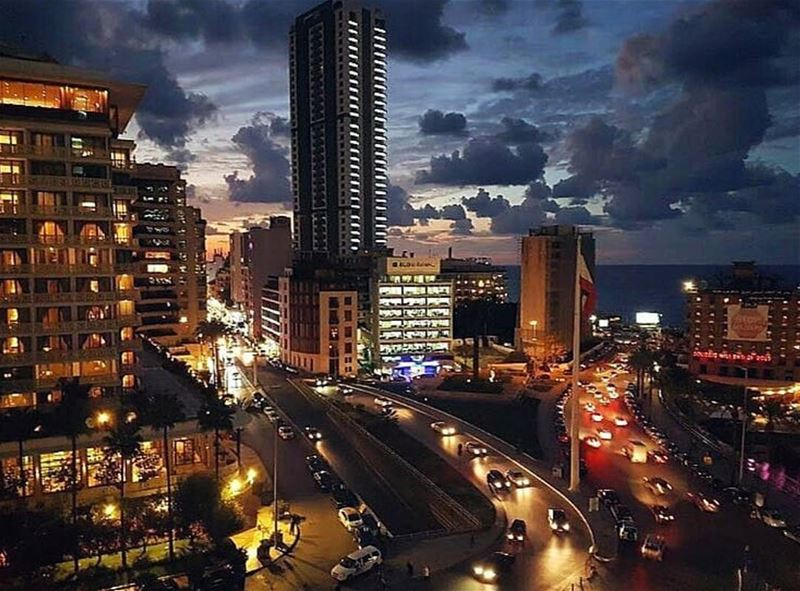 Meet the charming city of beirut ❤🌇❤ thanks @salimabouzeid for sharing � (Beirut, Lebanon)
