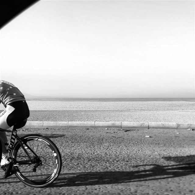 Cycling out of the frame - ichalhoub in Tripoli north Lebanon shooting...