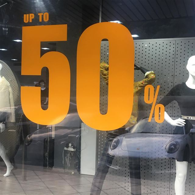 Further reductions SALE up to 50% OFF Quantities are limited!... (Er Râbié, Mont-Liban, Lebanon)