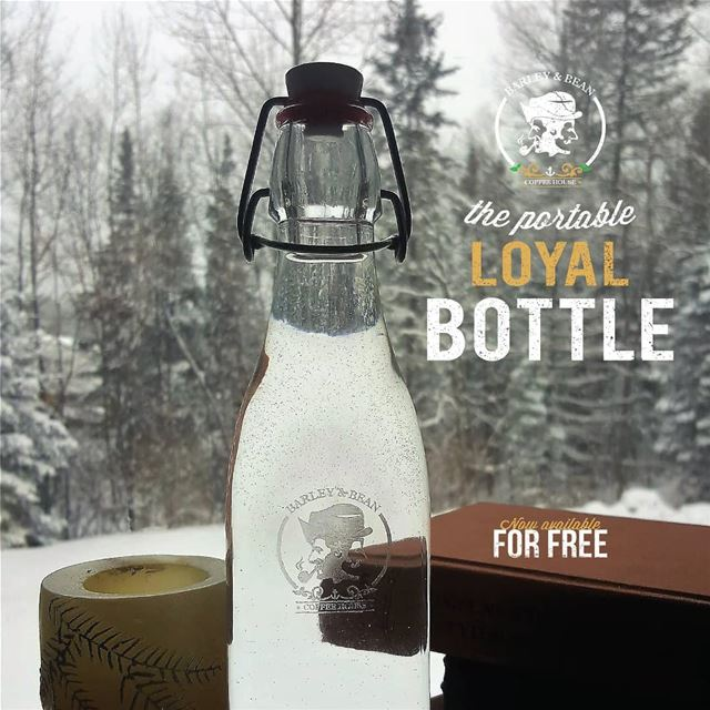 The Loyal Bottle is now available for FREE with our new Loyalty Card! ...