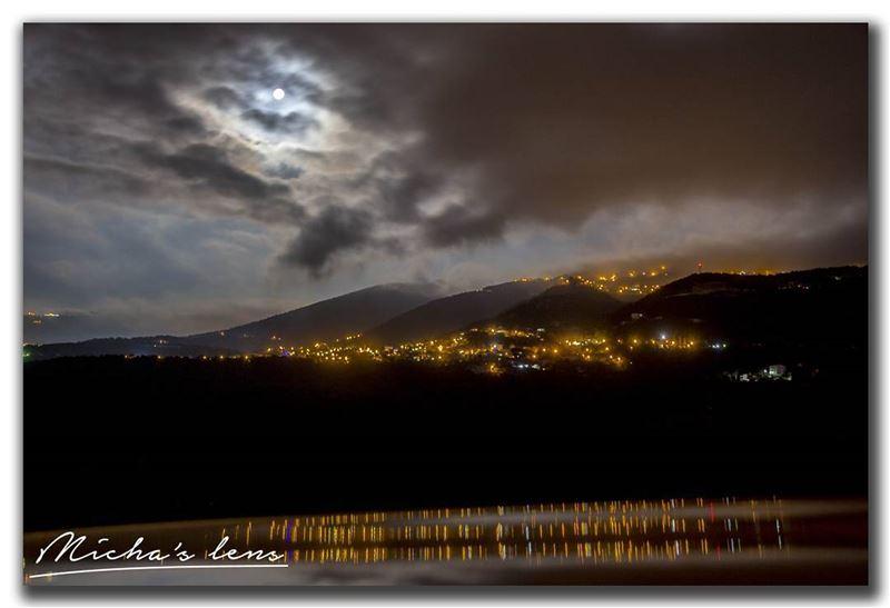 Sebhel my village under full moon livelovesebhel thebestinlebanon ...