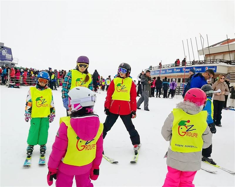 See you on the slopes groupez skischool mzaar lebanon ... (Lebanon)