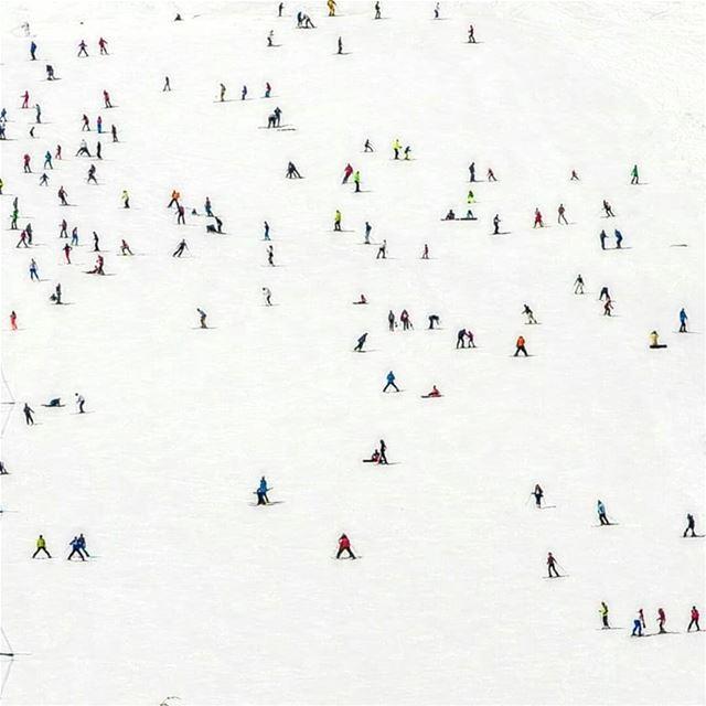 Have a break have a snowy playground & wonderful weekend 🏂Good morning... (Faraya, Mont-Liban, Lebanon)