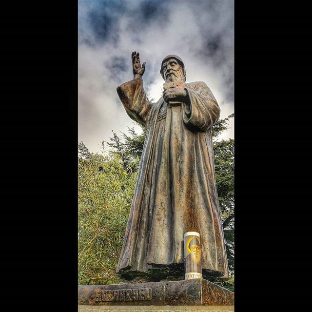 He will command his angels to protect you wherever you go 🙏 hope... (Mazar Saint Charbel-Annaya)