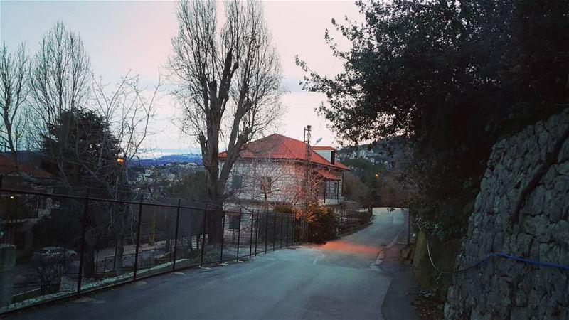 Lethe. . . lebanon on my road ig_lebanon old places lebanesehouses... (Bikfaïya, Mont-Liban, Lebanon)