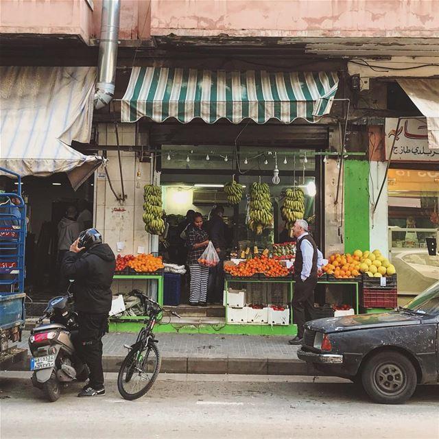Grocery shopping 🍊 Lebanon tb travel travelgram traveler wanderlust... (Beirut, Lebanon)