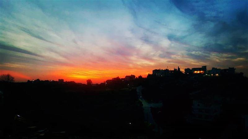 sunset maghdouche livelovemaghdouche livelovelebanon insta_lebanon ...