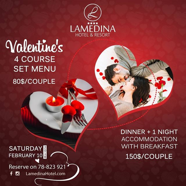 Reserve your romantic candlelit Valentine's dinner at LamedinaHotel ...
