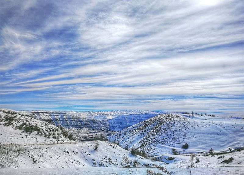 A haven to get lost in. mountains snowy snow skyline skies getaway ... (Lebanon)