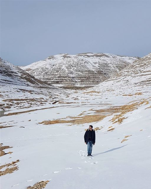 If you walk in the footprints of others you won't make any of your own👣👣� (Chabrouh-Faraya)