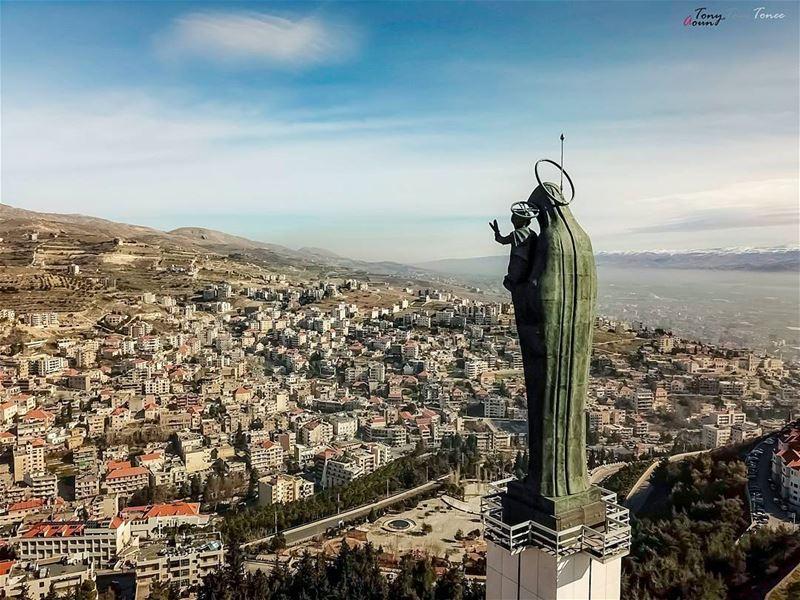 BLESSED SUNDAY !!! ig_lebanon natgeolebanon tagthestory lebanontimes ... (Zahlé, Lebanon)
