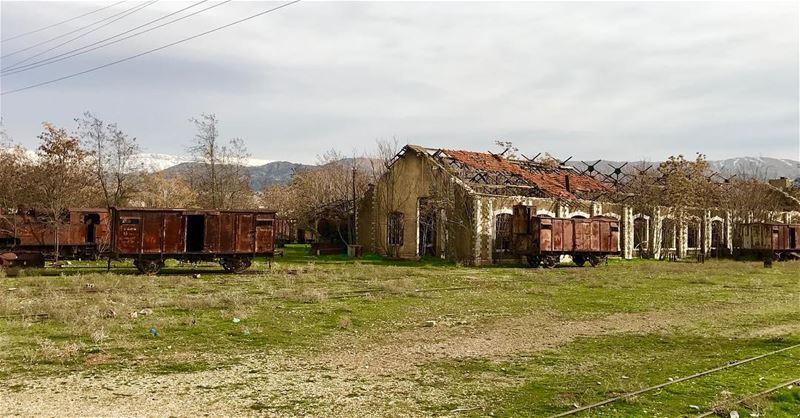 lebanon bekaa beqaa riyaq livelovelebanon livelovebeirut trainstation... (Riyaq, Béqaa, Lebanon)