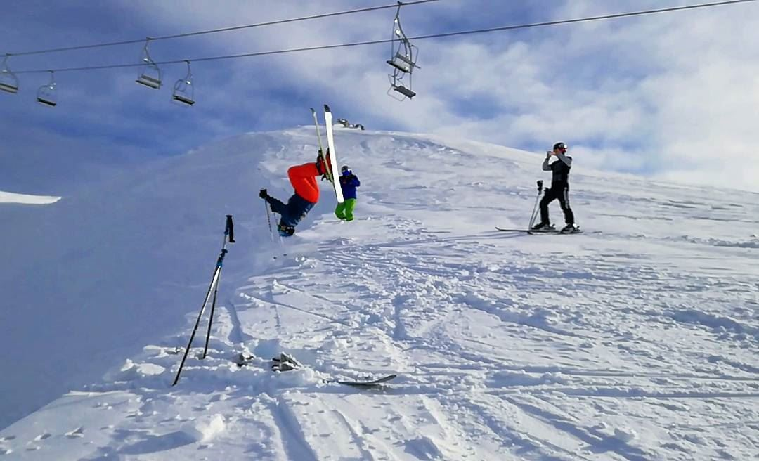Drunk¡¿¡¿ faraya farayalovers lebanon salomon sportsexperts ... (Faraya, Mont-Liban, Lebanon)