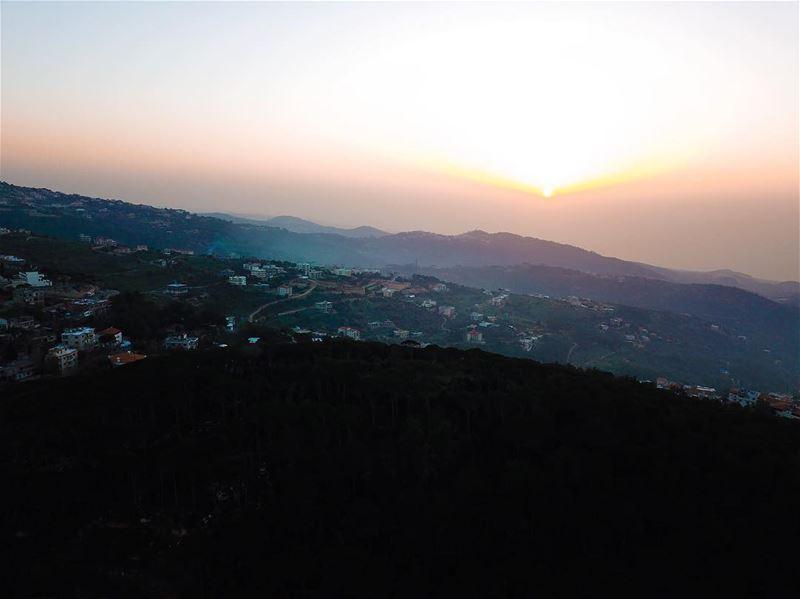 🌄... photography mavicpro dji mavic_pro mavicphotography mavic ... (Aramoun, Mont-Liban, Lebanon)