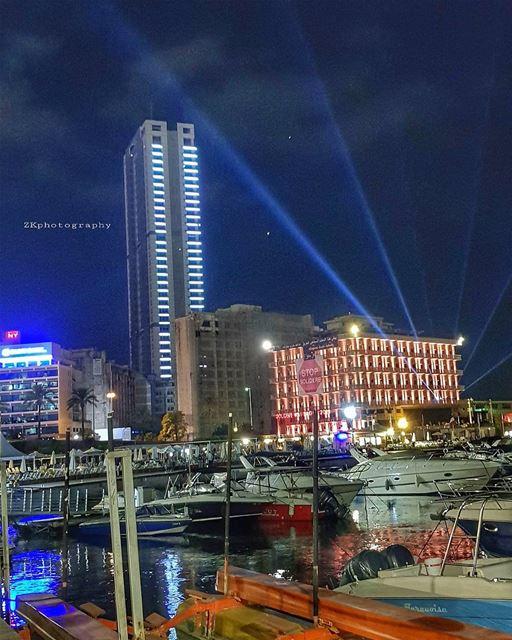 Sparkling Beirut ♥️🇱🇧 * insta_lebanon ig_lebanon lebanon_pictures ... (Saint-George Hotel,Yacht Club & Marina)