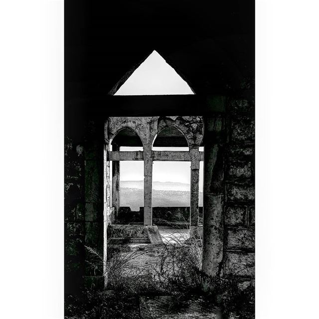 Silence is an answer too...🖤...  blackandwhite  bnw  monochrome ... (Dahr Es-Suwan, Mont-Liban, Lebanon)