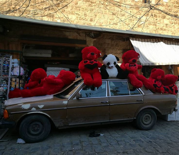 Early Valentine's in the old town - ichalhoub in Tripoli north Lebanon...