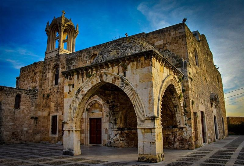 Saint John-Marc ByblosThe Beautiful Romanesque Cathedral built in 1115 by... (Byblos, Lebanon)