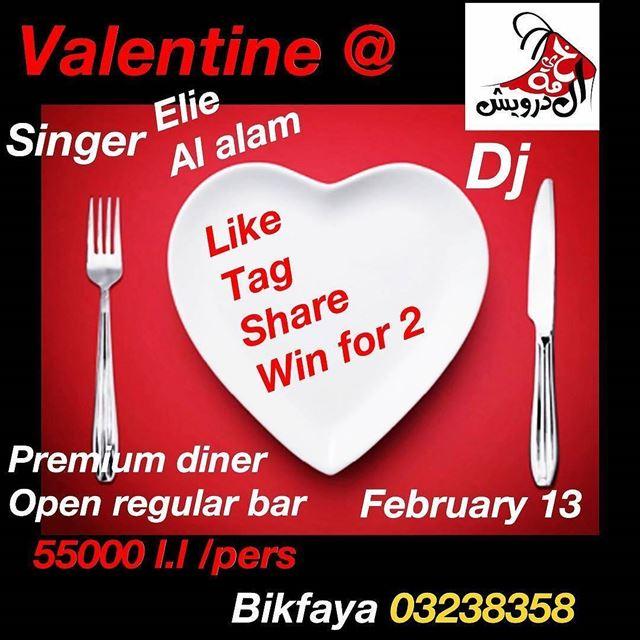 @khaymit_el_darwich_bikfaya - Its winner's Valentine ❤️❤️❤️. Like our... (Khaymit el Darwich)