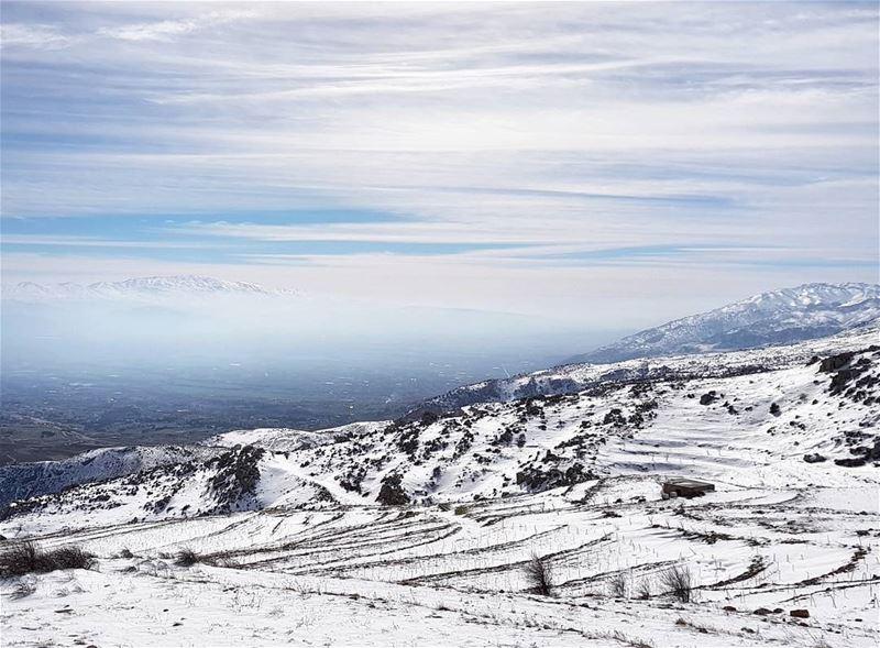 From Sanine to Mount Hermon 🗻🌳🗻 (Mount Sannine)