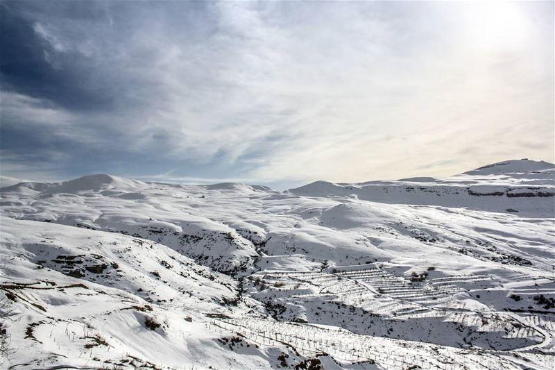 Morning Sannine Lebanon ❄️