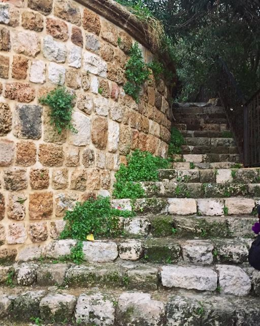 Life is a series of steps..... byblos lebanon quotes livelovebyblos... (Byblos - Jbeil)