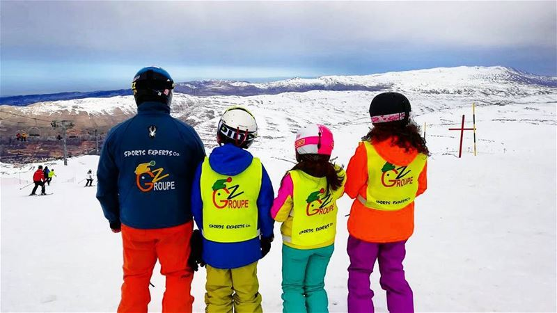 It was a great weekend groupez skischool mzaar lebanon sportsexperts... (Lebanon)
