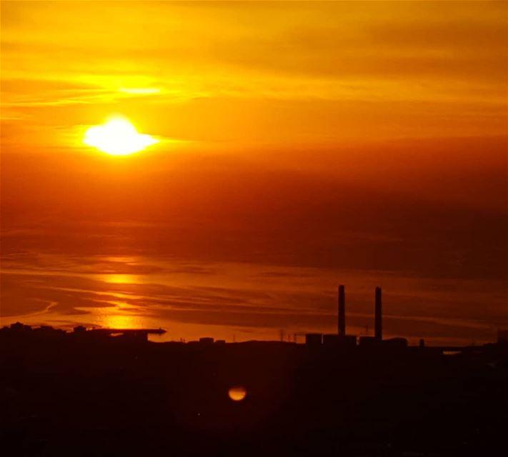 SUNSET..... Lebanon sunsets sunsets sunsetfromthesea SunsetPorn ... (Kesrouane)