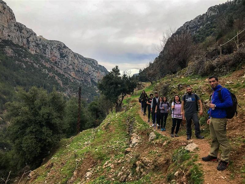 Walking in the valley of the saints 👌🏻 (Qannoubine Valley)