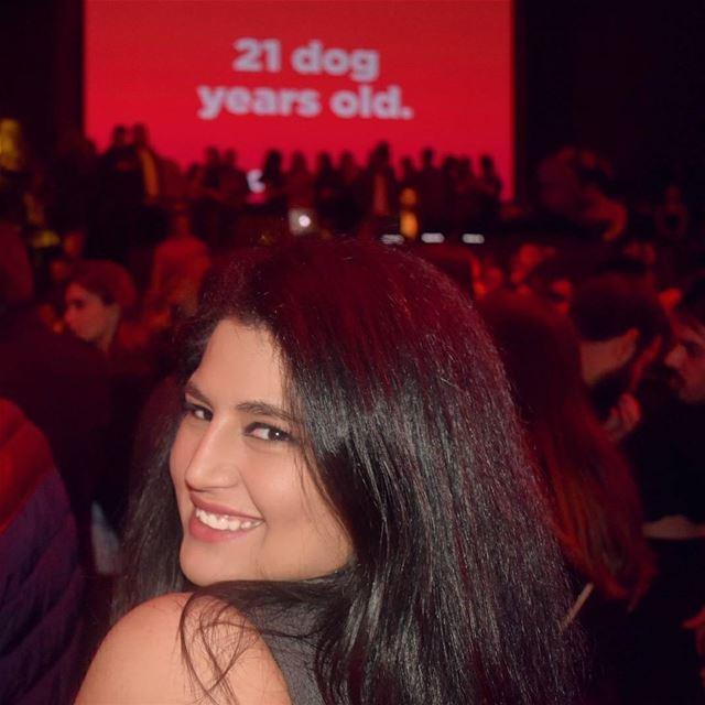Happy anniversary @zomatolb 💗 zomatoturns3 zomatolb............. (O1NE Beirut)