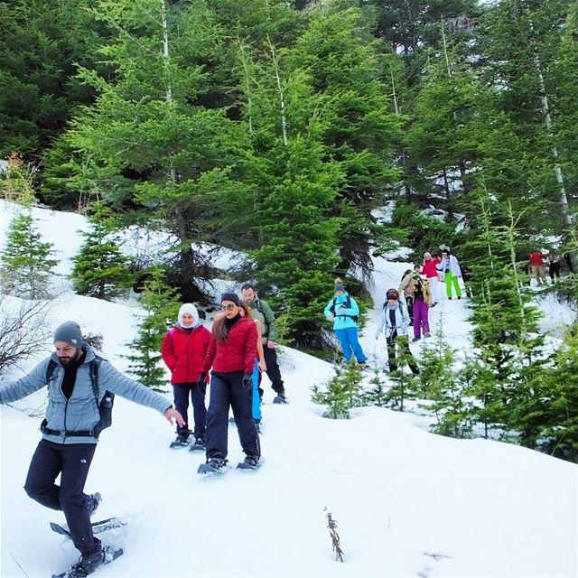 promaxsports ehden snowshoeinglebanon mashiya snowshoeing hiking ... (Ehden, Lebanon)