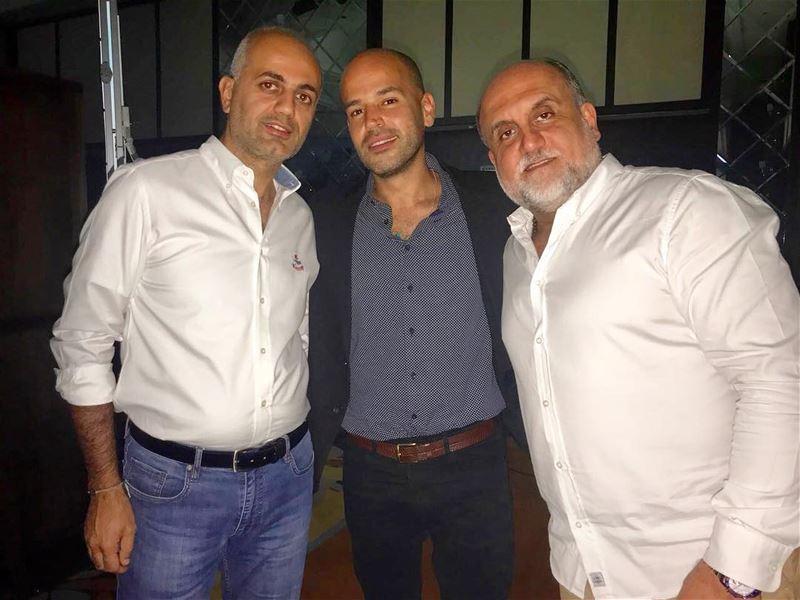 أبو نجم اغنية ٣ دقات وصديق الفنانين ماهر خوخجة في دبي. dubai... (Dubai, United Arab Emirates)