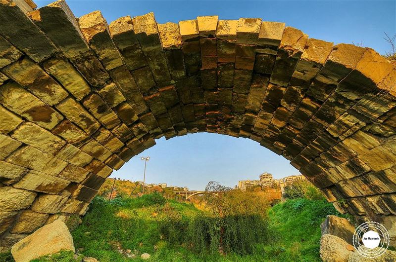 Men build too many walls and not enough bridges... ( Ghazir ).  bridge ... (Ghazir, Mont-Liban, Lebanon)