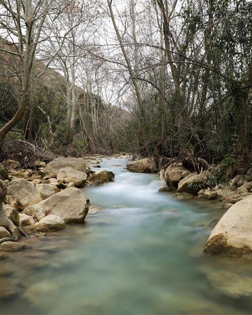Wadi l akhdar river.04/02/2018... photography photographer... (Kfar Roummâne, Beyrouth, Lebanon)