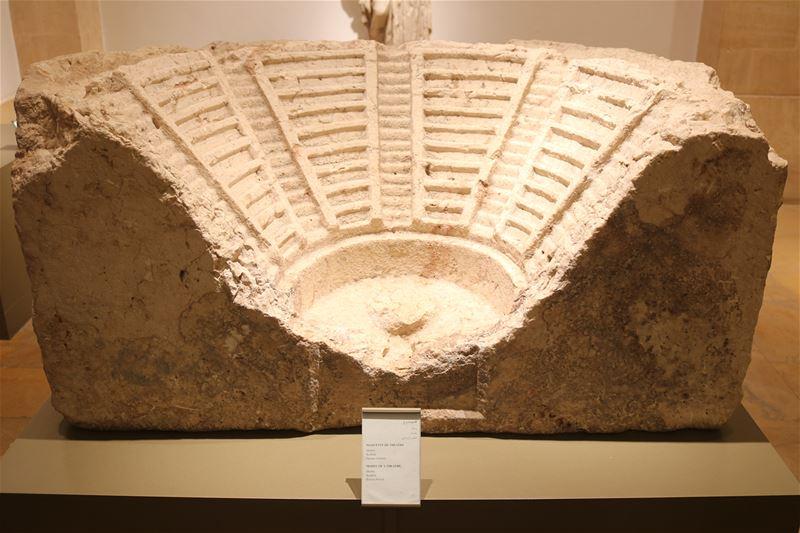 Época Romana en el actual Líbano. Esta pieza que se encuentra en el museo... (National Museum of Beirut)