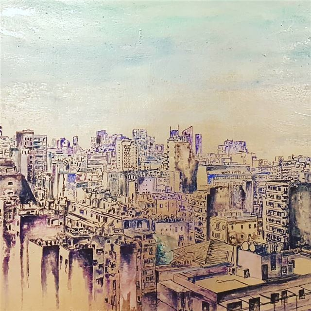 Beirut, echo of the silence. Amazing exhibition by Brahim Samaha. His... (Beit Beirut)