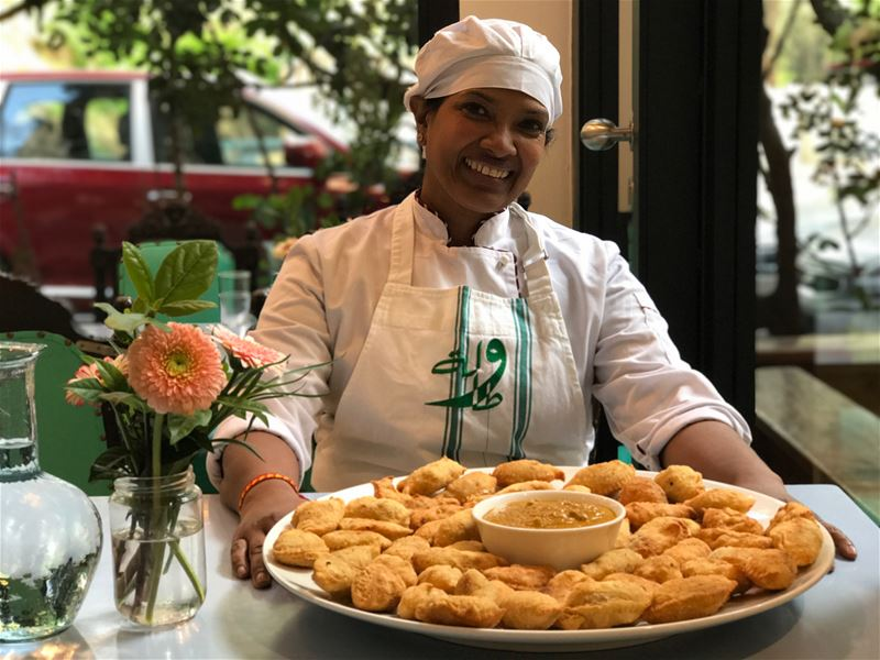 Today's cook is Anna Fernando who is from SriLanka and was part of our ... (Tawlet)