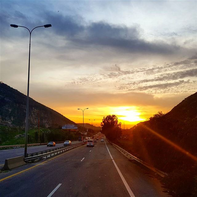 """Sunsets are proof that no matter what happens everyday can end... (Lebanon)"