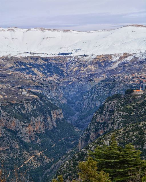The Beautiful Valley of Kannoubine, North Lebanon  livelovebcharre | Good... (Ouâdi Qannoûbîne, Liban-Nord, Lebanon)