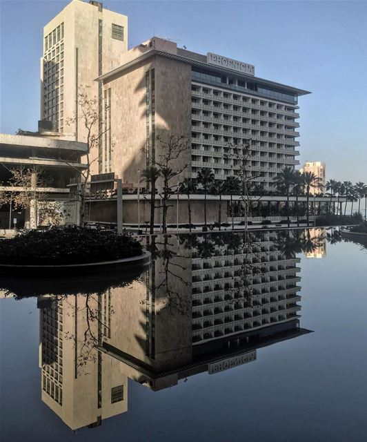 Beauty reflection 🏢 (Phoenicia Hotel Beirut)