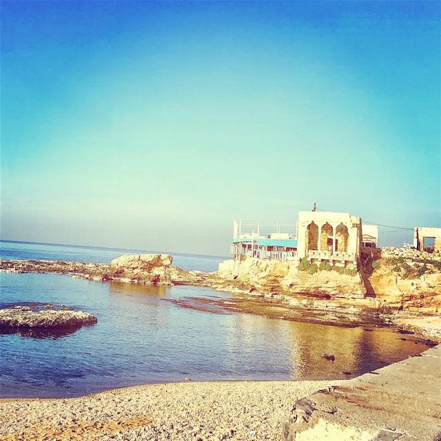 By the sea...💙——————————————————————————— batroun livelovelebanon ... (Batroûn)