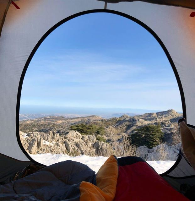 Imagine waking up like this.  mountain25  snowcamp  thenorthface ...